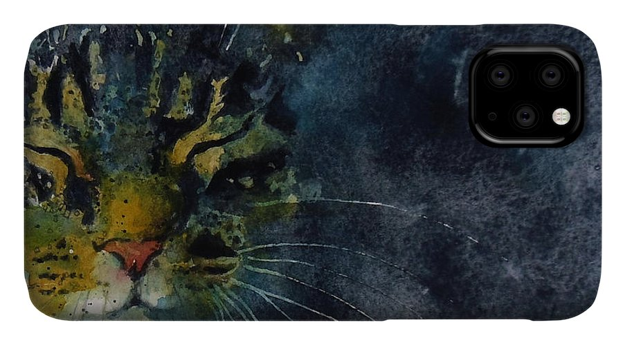 Tabby IPhone Case featuring the painting Thinking Of You by Paul Lovering