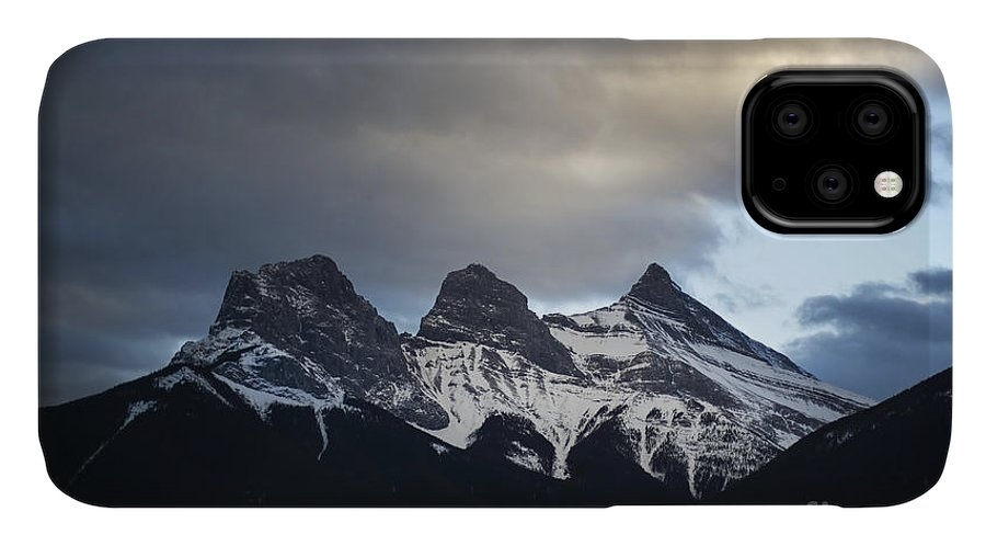 Three Sisters IPhone 11 Case featuring the photograph Three Sisters - Special Request by Evelina Kremsdorf