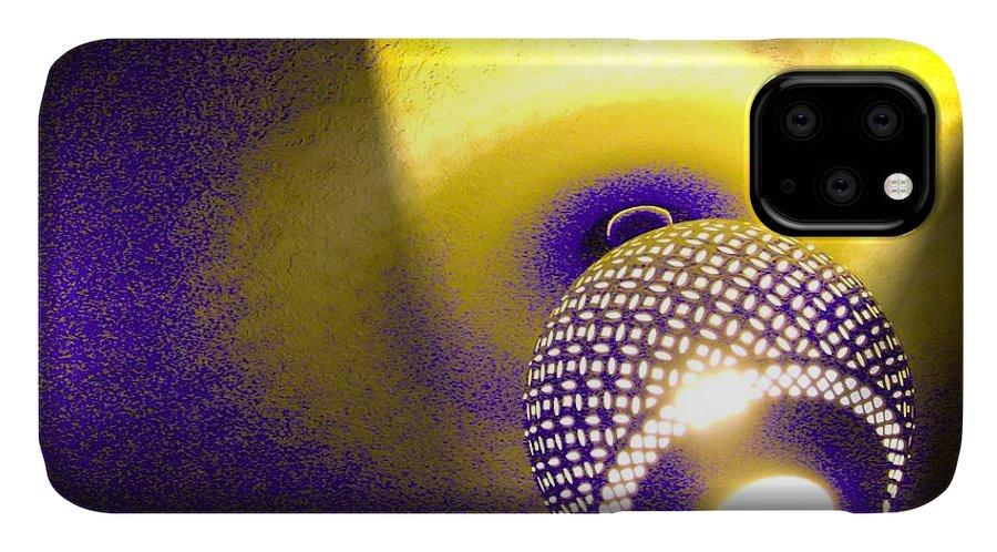 Orb IPhone Case featuring the photograph Towels Are Complimentary by Laureen Murtha Menzl