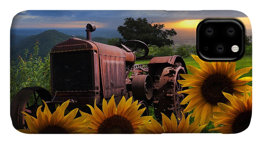 Appalachia IPhone 11 Case featuring the photograph Tractor Heaven by Debra and Dave Vanderlaan