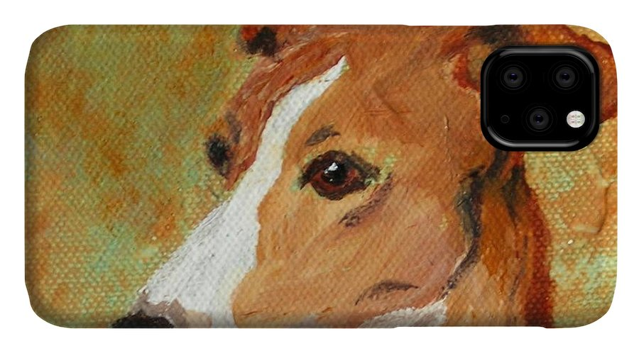 Acrylic IPhone Case featuring the painting Treasured Moments by Cori Solomon