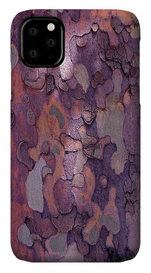 Abstract IPhone Case featuring the photograph Tree Abstract by Rona Black