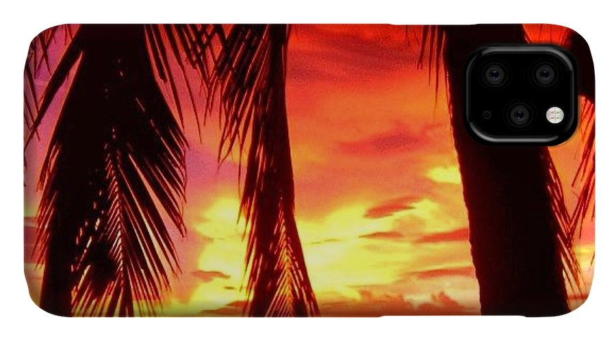 Iclandscapes IPhone Case featuring the photograph Tropical Sunset - Thailand by Luisa Azzolini