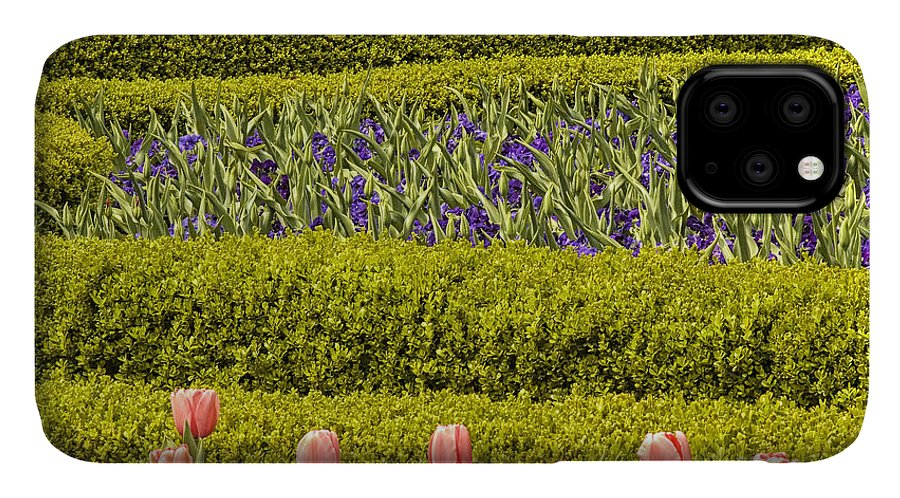 Flowers IPhone Case featuring the photograph Tulip Garden by Richard Patrick