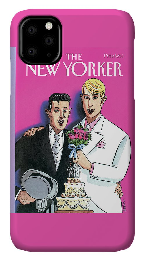 June IPhone Case featuring the painting New Yorker June 13th, 1994 by Jacques de Loustal