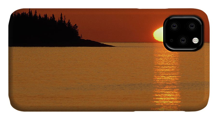 Awakening IPhone 11 Case featuring the photograph Usa, Michigan, Isle Royale National by Jaynes Gallery