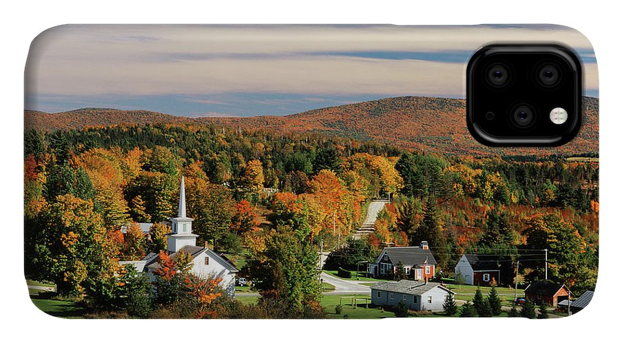 Adnt IPhone Case featuring the photograph Usa, Vermont, Northeast Kingdom, View by Walter Bibikow