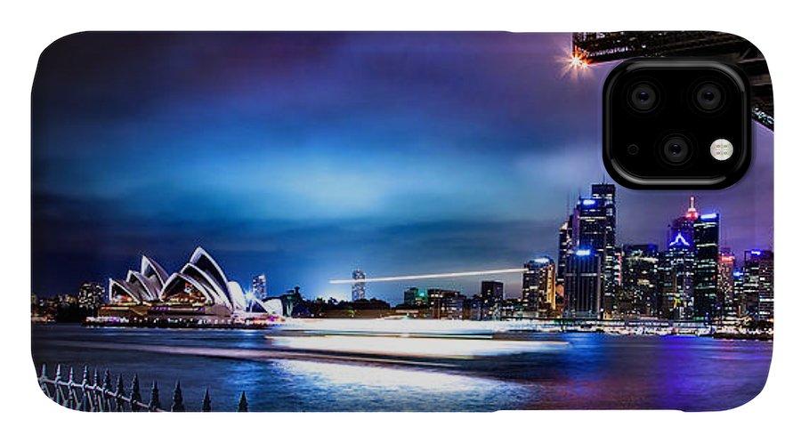 Sydney IPhone Case featuring the photograph Vibrant Sydney Harbour by Az Jackson