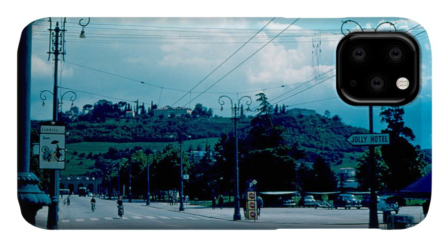 Vicenza IPhone Case featuring the photograph Vicenza Italy 5 1962 by Cumberland Warden