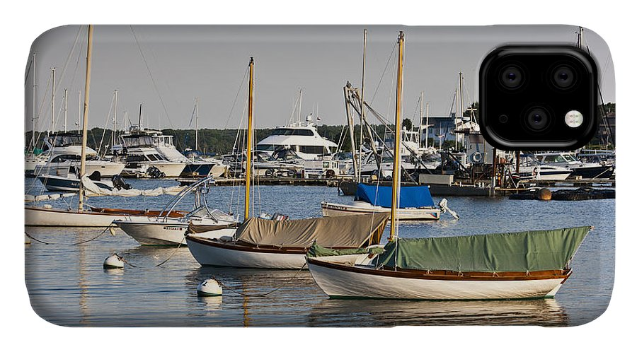 Boat IPhone Case featuring the photograph Waiting For Sailors by Dennis Coates