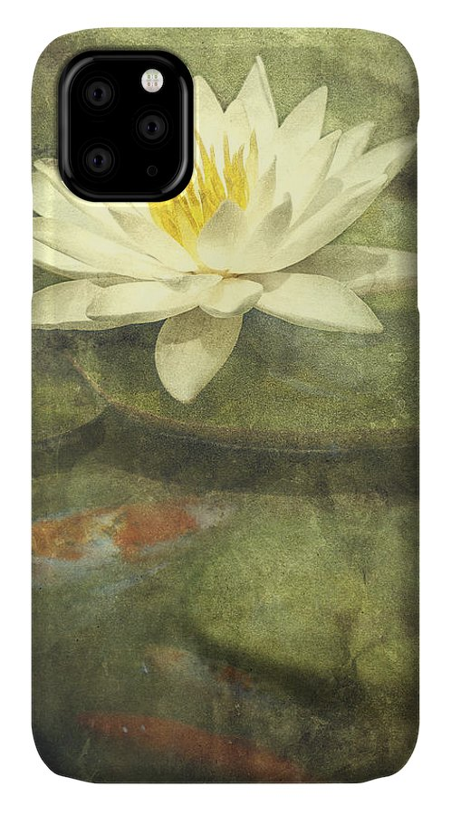 Water Lily IPhone 11 Case featuring the photograph Water Lily by Scott Norris