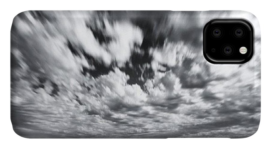 IPhone Case featuring the photograph We Have Had Lots Of High Clouds And by Larry Marshall