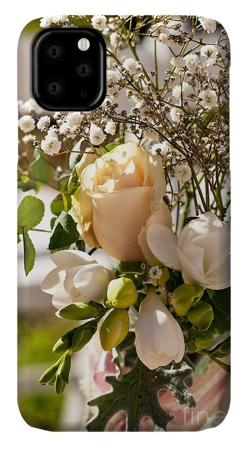 Wedding IPhone Case featuring the photograph Wedding Posy by Rick Piper Photography
