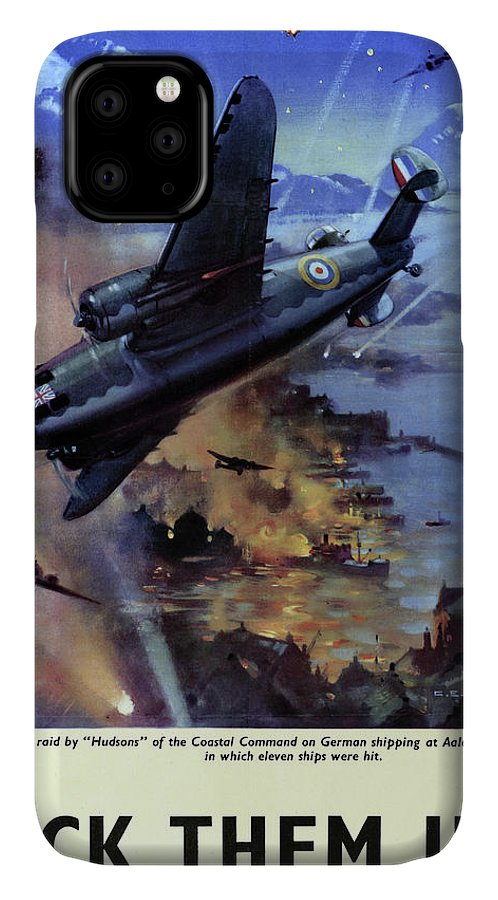 1942 IPhone 11 Case featuring the drawing Wwii Royal Air Force, C1942 by Granger