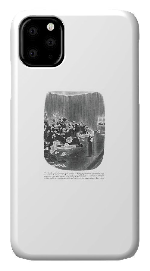 You Have Been Listening To The World Premiere IPhone Case