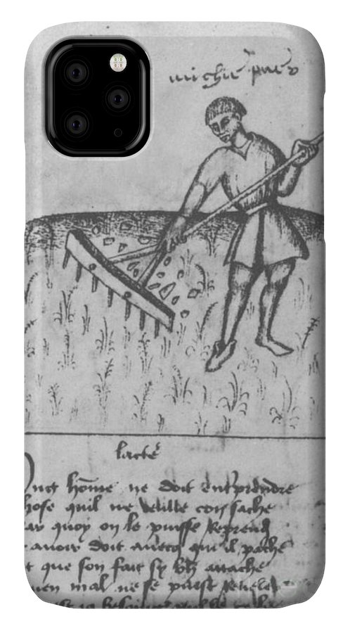 Agriculture IPhone Case featuring the photograph Agriculture, 15th Century by Science Source