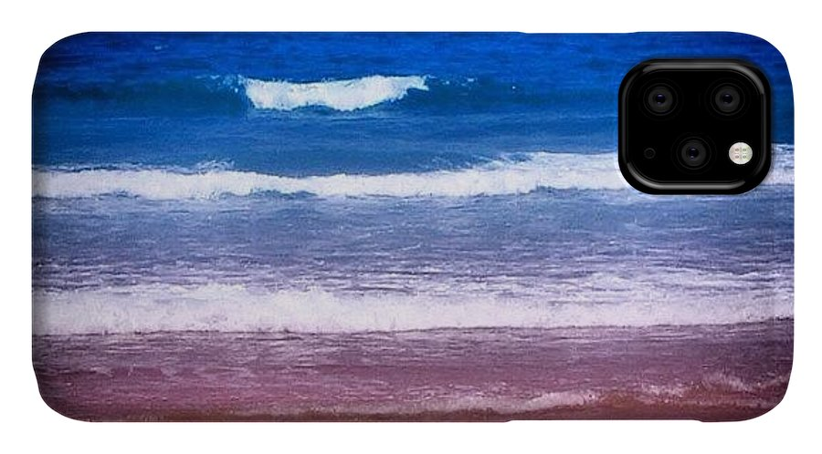 Outdoor IPhone Case featuring the photograph Indian Ocean by Luisa Azzolini