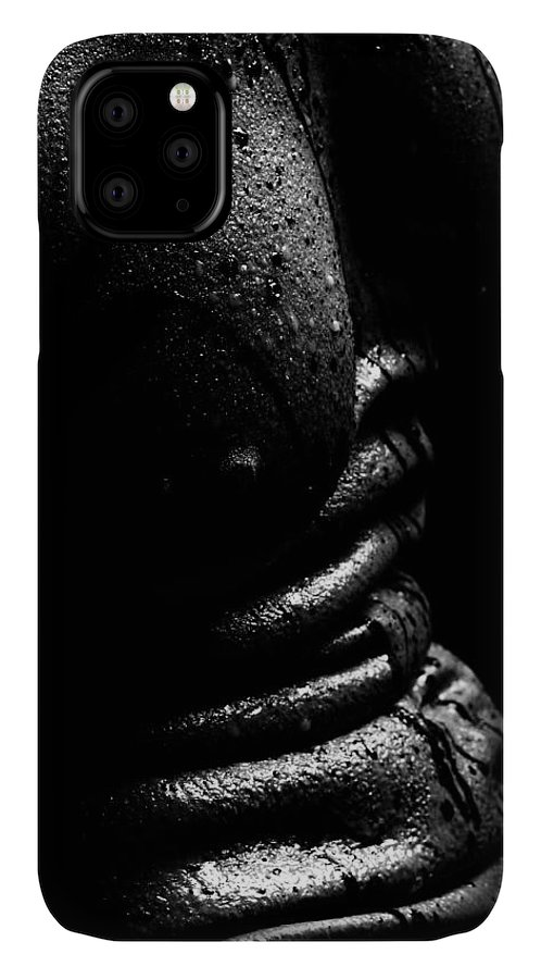 Nude Photographs IPhone Case featuring the photograph Liquid Latex by Pavel Jelinek