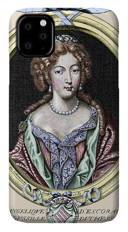 1687 IPhone Case featuring the photograph Marie-ang�lique De Rousille by Granger