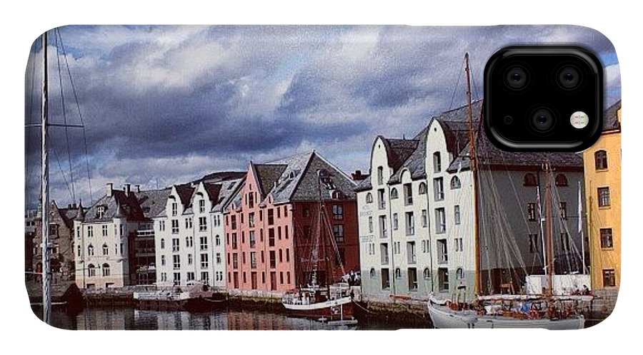 Europe IPhone Case featuring the photograph Alesund by Luisa Azzolini