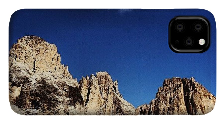 Mountain IPhone Case featuring the photograph Dolomites by Luisa Azzolini