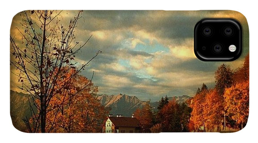 Beautiful IPhone Case featuring the photograph Autumn In South Tyrol by Luisa Azzolini