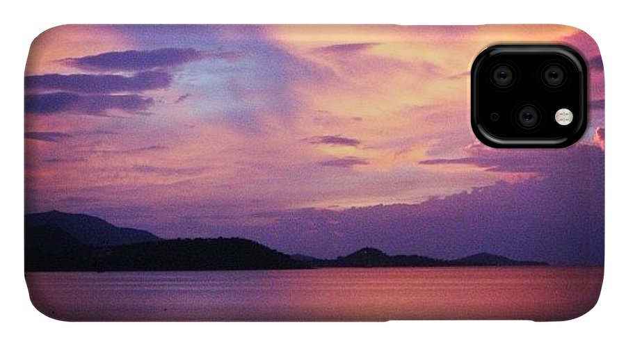 Nature IPhone Case featuring the photograph Sunset by Luisa Azzolini