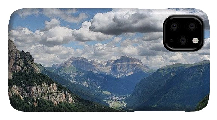 Scenery IPhone Case featuring the photograph Dolomites by Luisa Azzolini