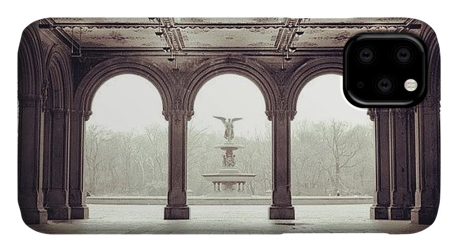 Europe IPhone Case featuring the photograph Bethesda Terrace by Randy Lemoine