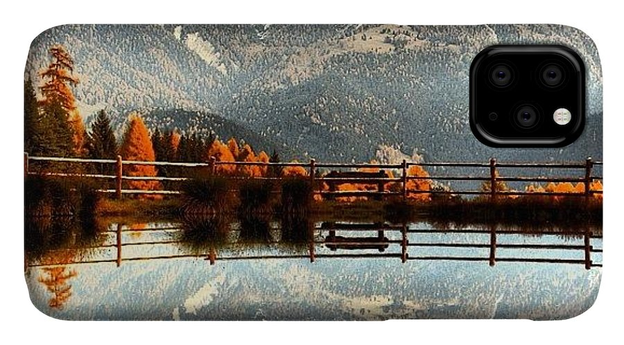 Rscpics IPhone Case featuring the photograph Catinaccio by Luisa Azzolini
