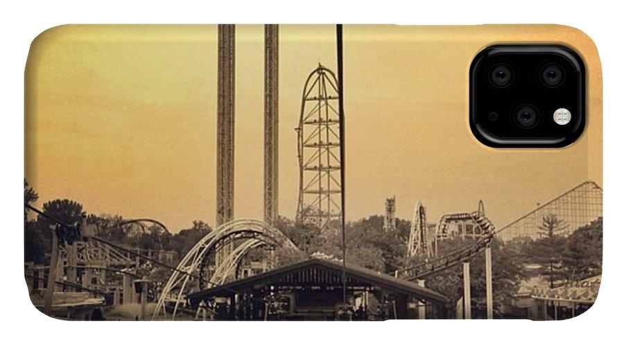 Cedarpoint IPhone Case featuring the photograph #cedarpoint #ohio #ohiogram #amazing by Pete Michaud