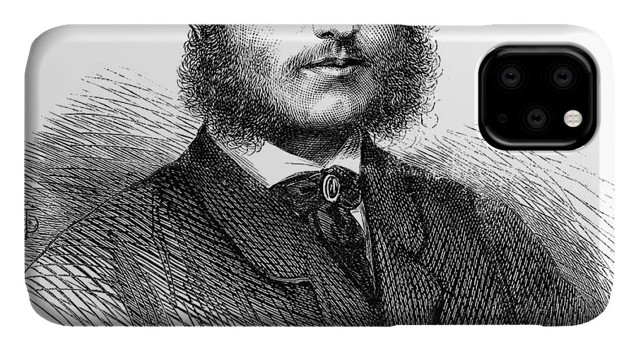 1865 IPhone Case featuring the photograph Charles Hanbury-tracy by Granger