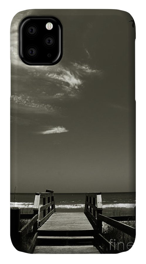 Beach IPhone 11 Case featuring the photograph Coconut Point Beach Fl by Susanne Van Hulst