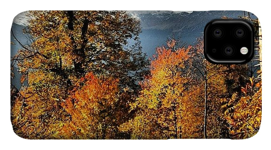 Iclandscapes IPhone Case featuring the photograph Colori D'autunno by Luisa Azzolini