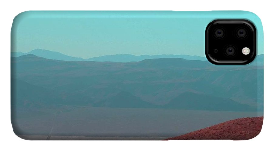 Nature IPhone 11 Case featuring the photograph Death Valley View 2 by Naxart Studio