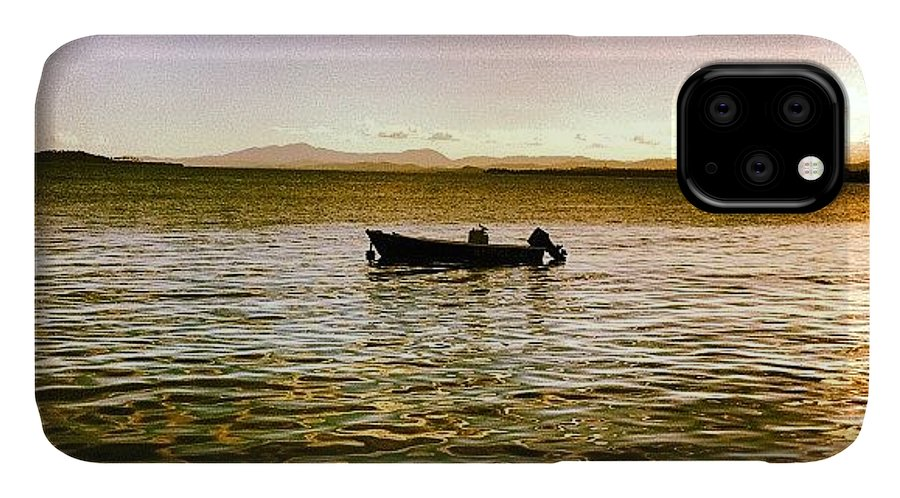 Elmalecon IPhone 11 Case featuring the photograph #elmako #tropicaleo #seafood by Luis Rafael