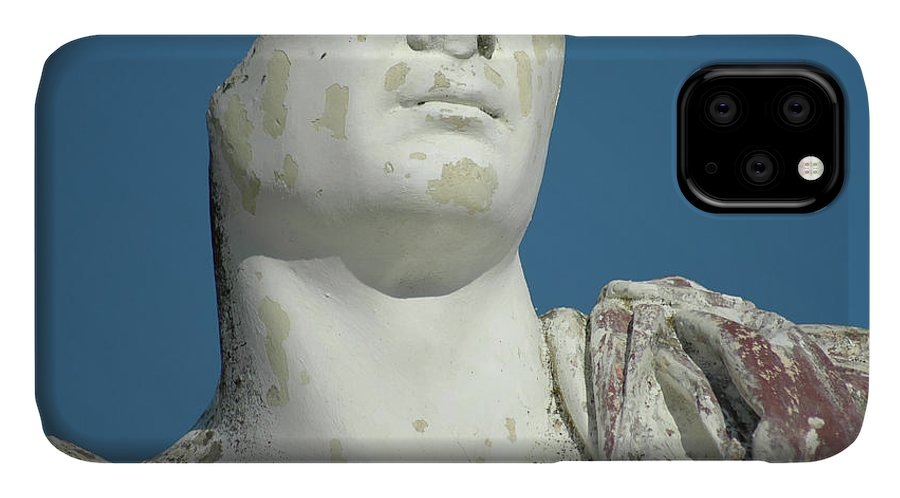 Europe IPhone 11 Case featuring the photograph Emperor's Bust by Mary Lane