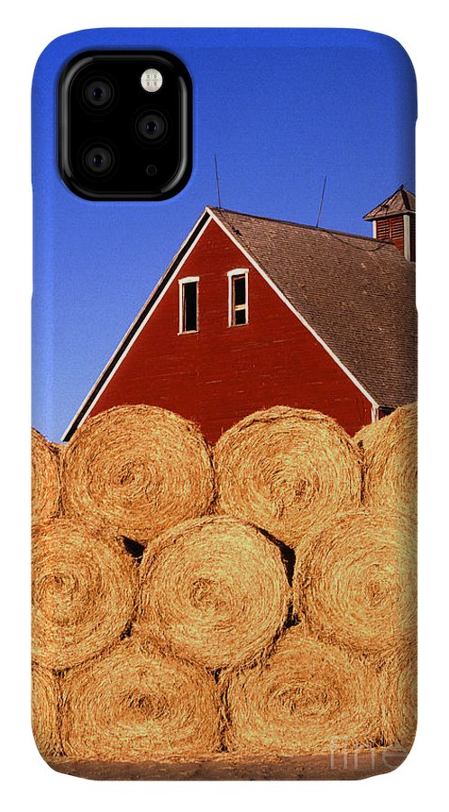 Farm IPhone Case featuring the photograph Farm by Photo Researchers