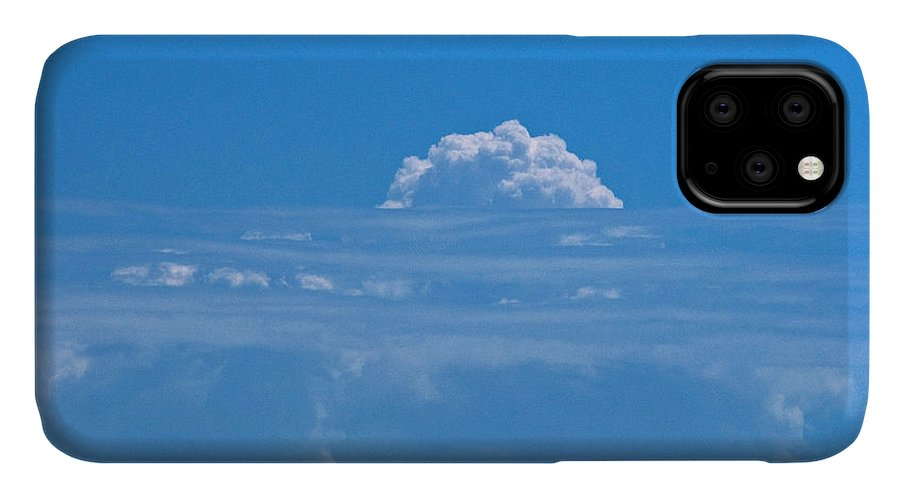 Clouds IPhone Case featuring the photograph Head In The Clouds by Christine Stonebridge