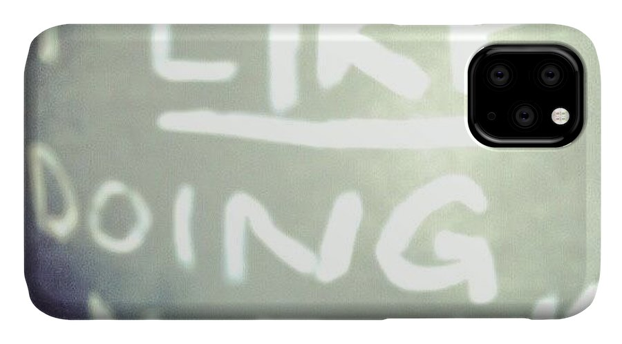 Life IPhone Case featuring the photograph I Like Doing #nothing #lazy #student by Abdelrahman Alawwad