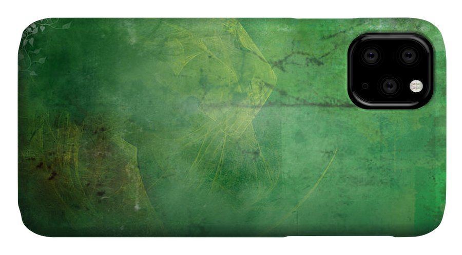 Ivy IPhone Case featuring the painting Ivy League by Christopher Gaston