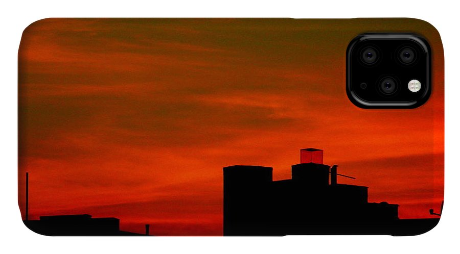 Sunset IPhone Case featuring the photograph June 2 2009 by Mark Gilman