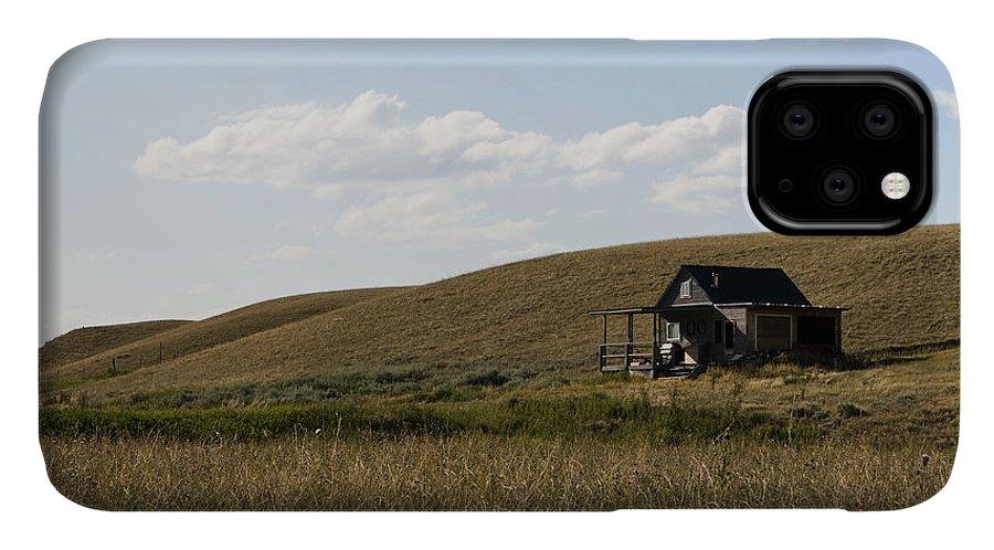 Farmhouse IPhone 11 Case featuring the photograph Little House On The Plains by Lorraine Devon Wilke