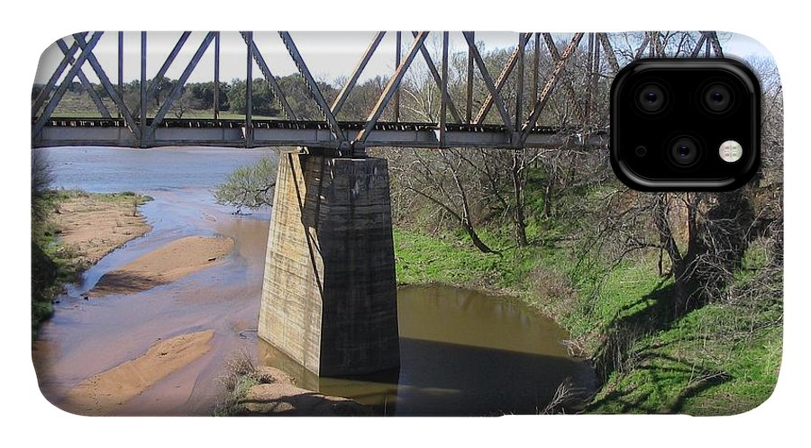Llano River IPhone Case featuring the photograph Little Llano Creek by Mark Robbins