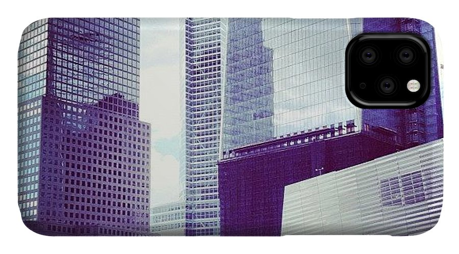 Europe IPhone Case featuring the photograph Memorial And Trade Centers by Randy Lemoine