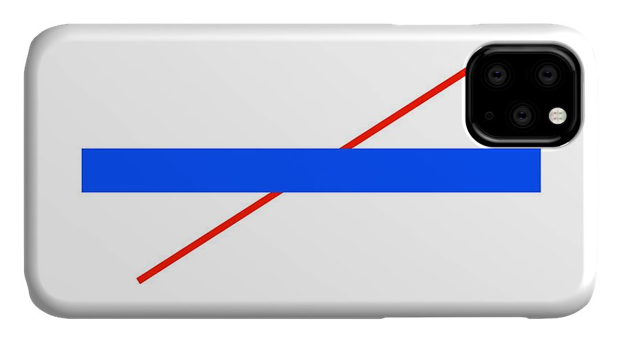 Poggendorff Illusion IPhone Case featuring the photograph Poggendorff Illusion by