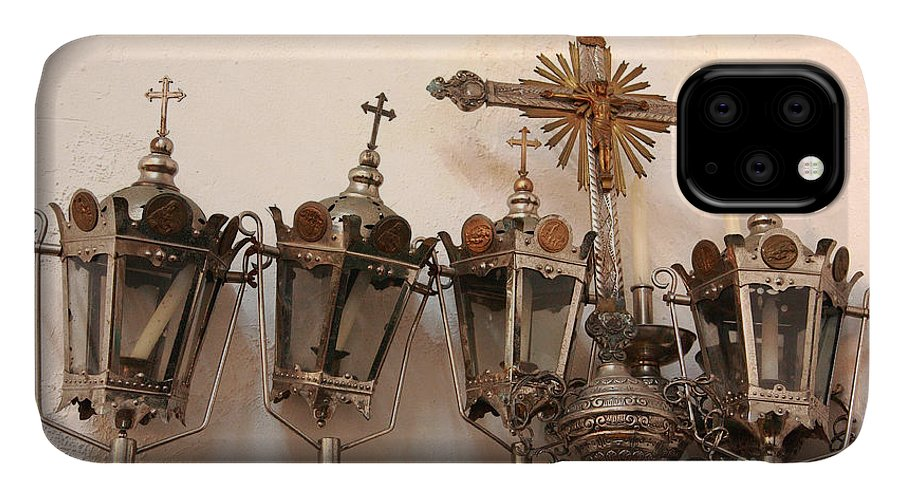 Lanterns IPhone Case featuring the photograph Religious Artifacts by Gaspar Avila
