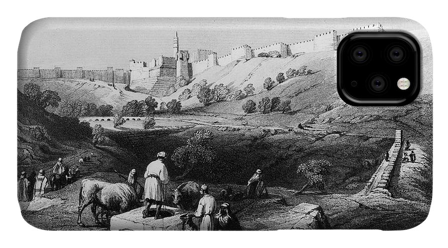 1843 IPhone Case featuring the photograph Spring Of Gihon by Granger