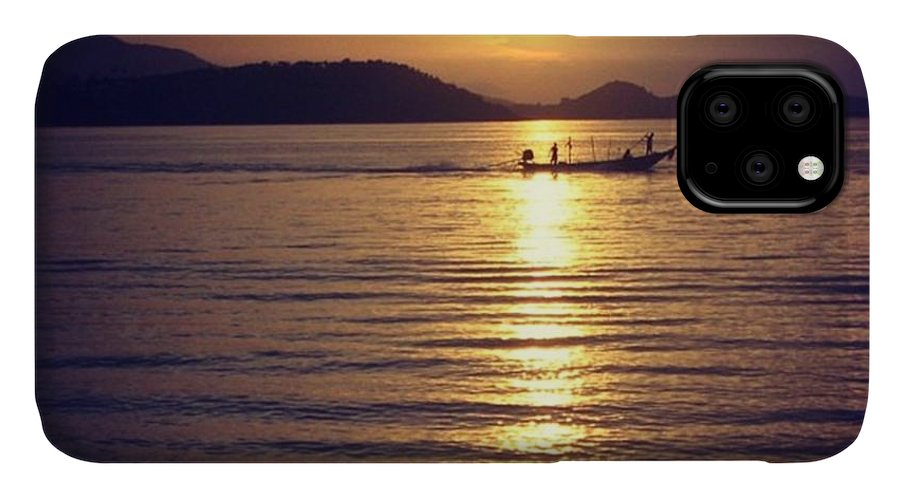 Sunset IPhone Case featuring the photograph Thailand by Luisa Azzolini