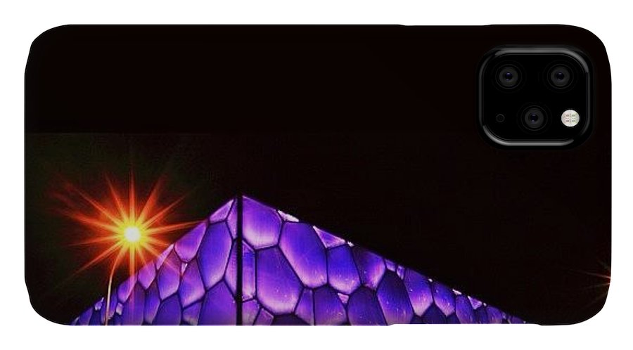 Art IPhone Case featuring the photograph The Beijing Olympics Ice Cube Was Built by Tommy Tjahjono